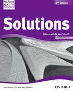 Solutions Intermediate Workbook and Audio CD Pack (Ukrainian Edition)