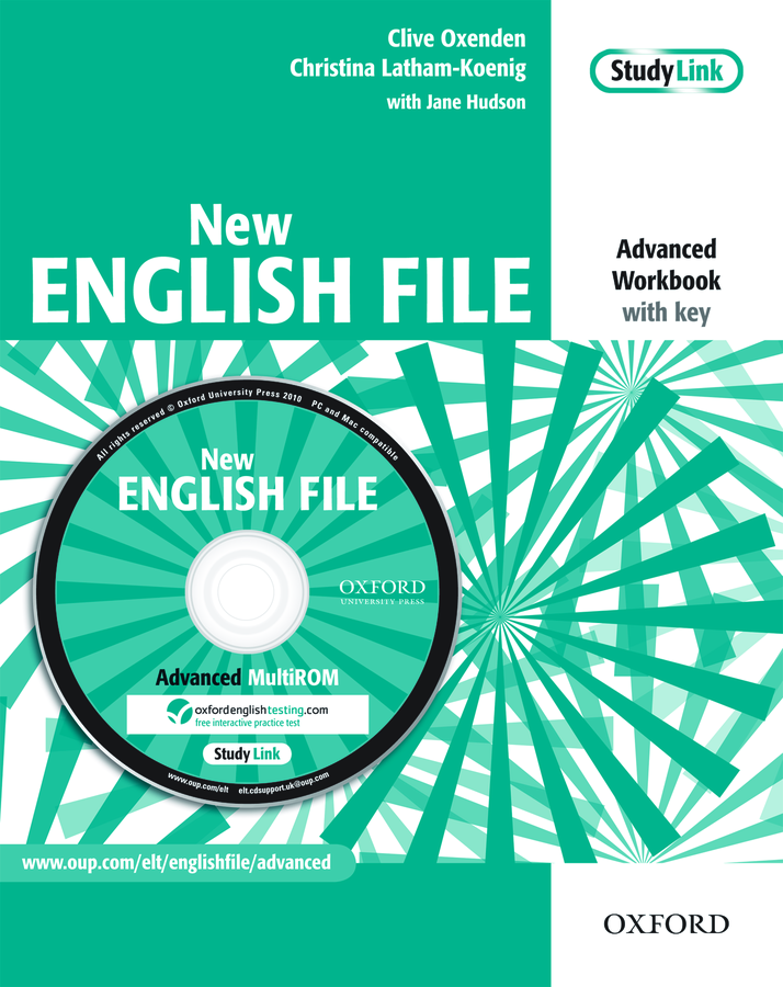 New English File Advanced.Workbook (without key) with MultiROM Pack