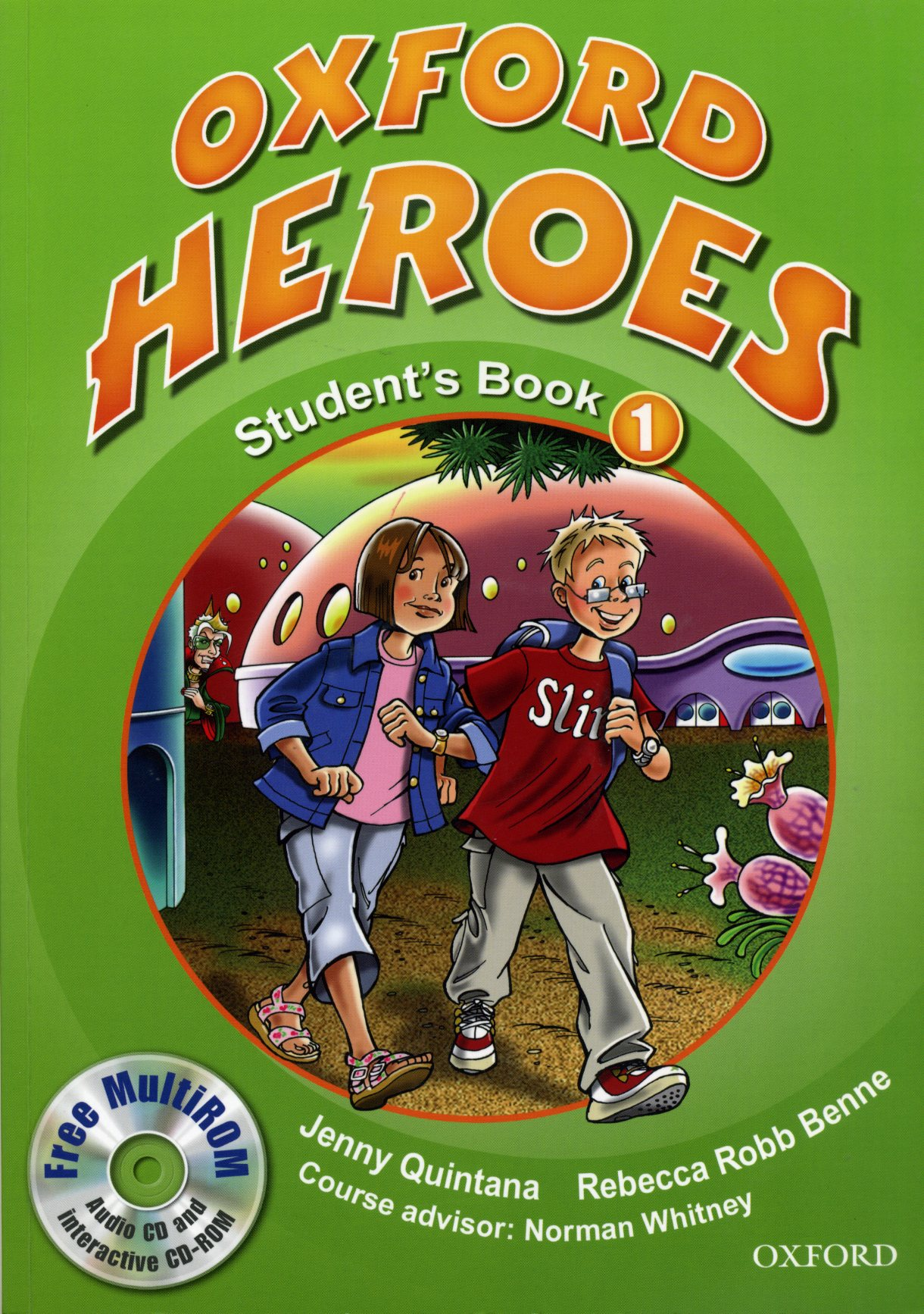Oxford Heroes 1.Student's Book and MultiROM Pack