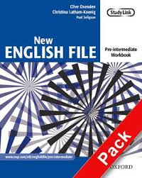 New English File Pre-intermediate.Workbook with key and MultiROM Pack