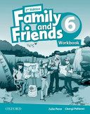 Family and Friends 6.Workbook. Second edition