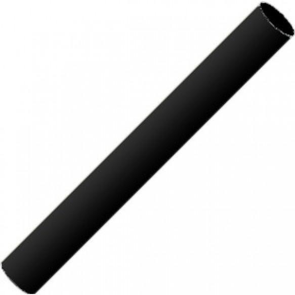 Полимерная глина пластишка черная, 17г