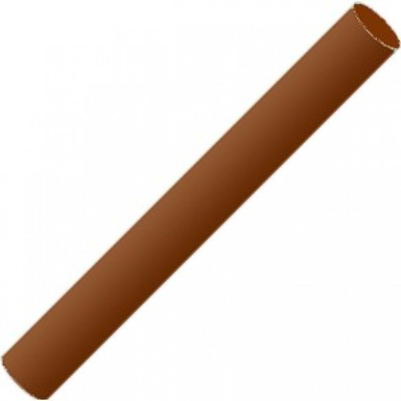 Полимерная глина пластишка темно-коричневая 17г