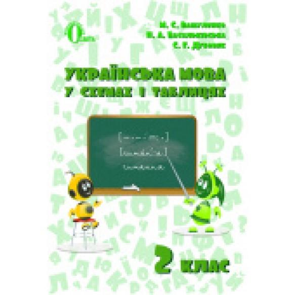 Українська мова у схемах і таблицях 2 клас