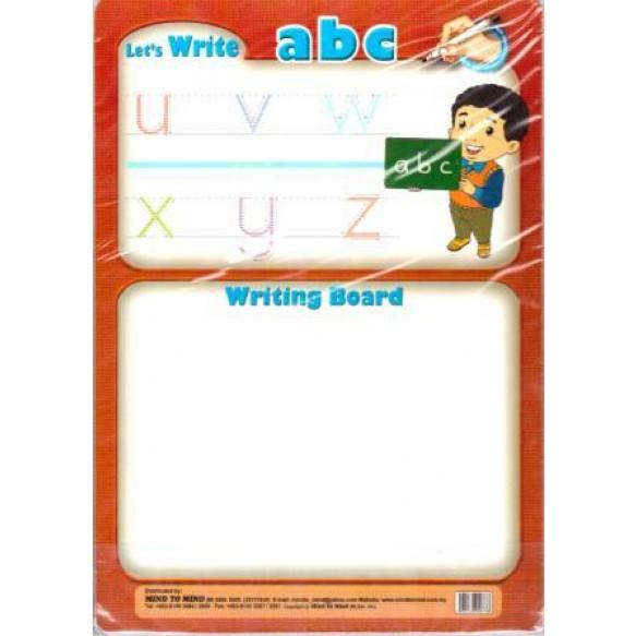 Дошка Let's write abc + маркер
