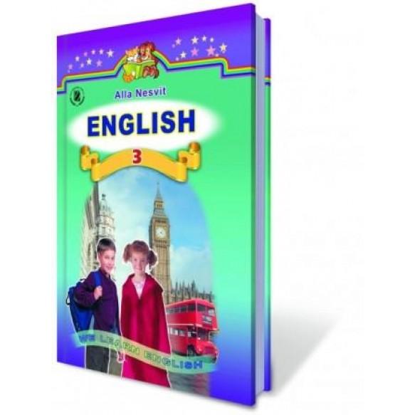 Англ язык 3 класс Учебник Несв