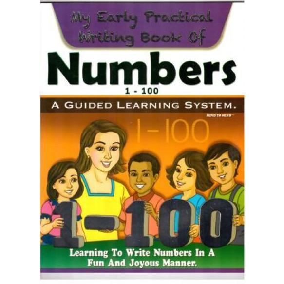 Writing book Числа 1-100