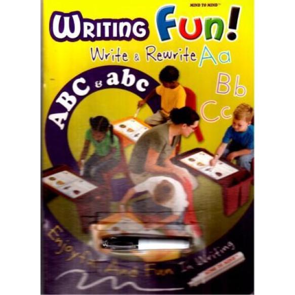Writing fun Alphabet (ABC & abc) + маркер