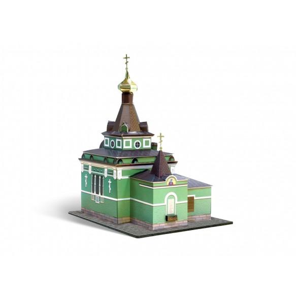 Часовня Ксении Петербургской(Сборная модель из картона)