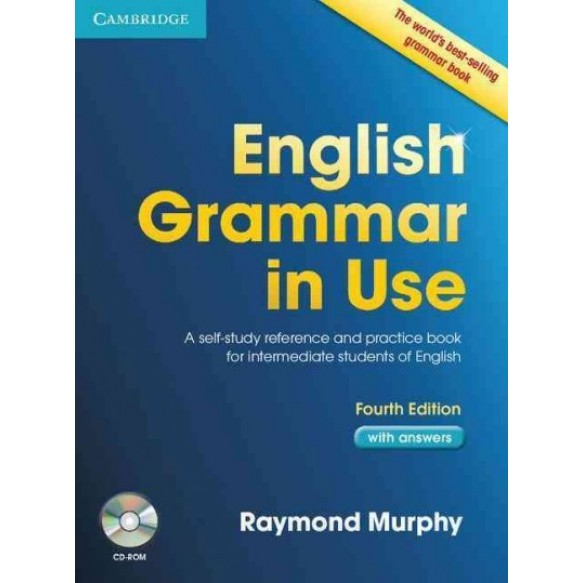 English Grammar in use  4-th edition  with answers and CD-Rom