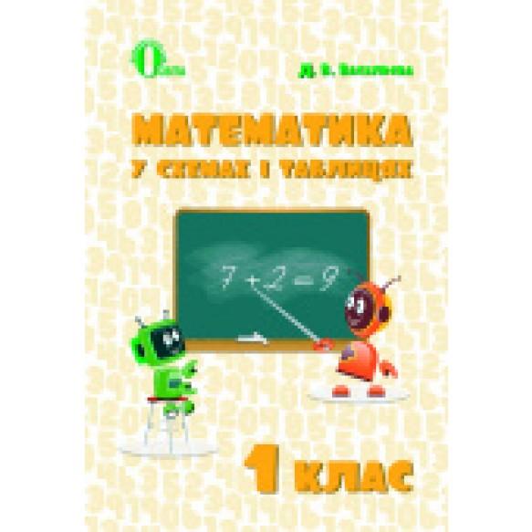 Математика у схемах і таблицях 1 клас