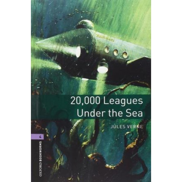 20,000 Leagues Under The Sea audio CD pack Level 4