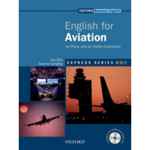 English for Aviation: Student Book & MultiROM Pack