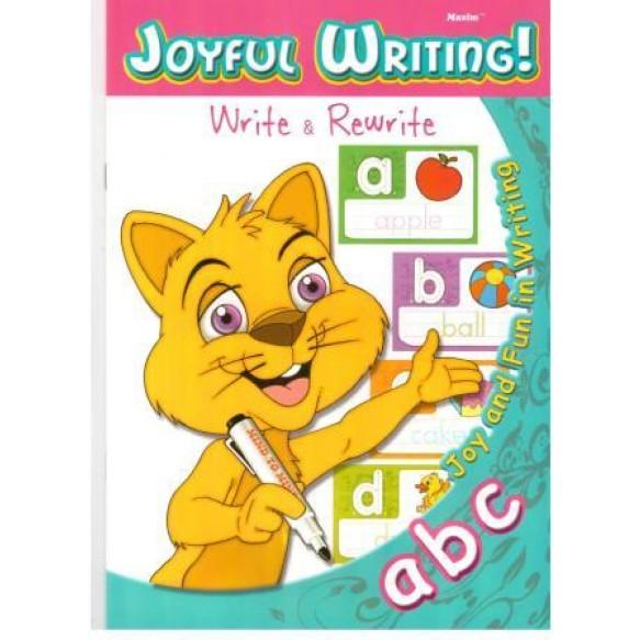 Прописи abc Joyful writing