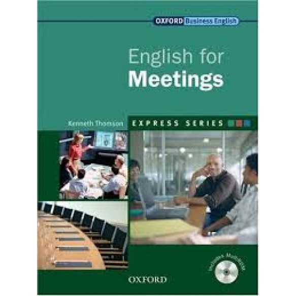 English for Meetings: Student's Book and MultiROM