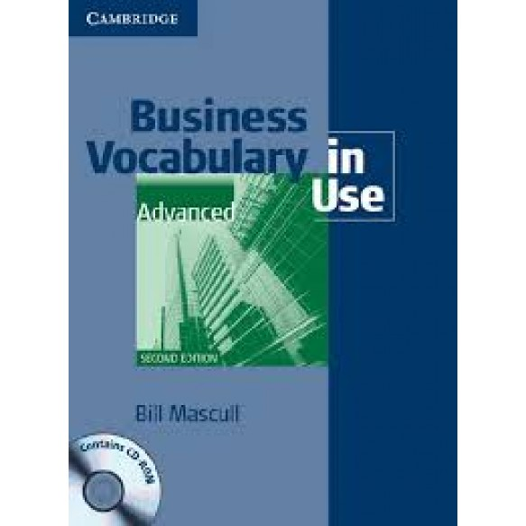 Business Vocabulary in Use  Advanced 2nd Edition Book with answers and CD-ROM