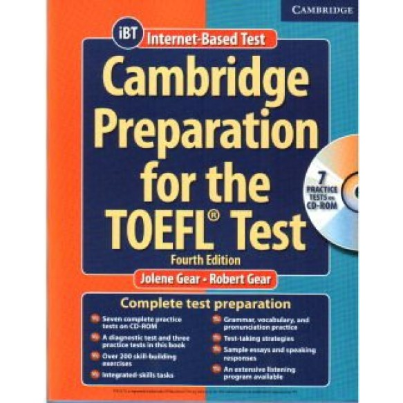 Cambridge Preparation for the TOEFL Test Fourth Ed +CD-Rom