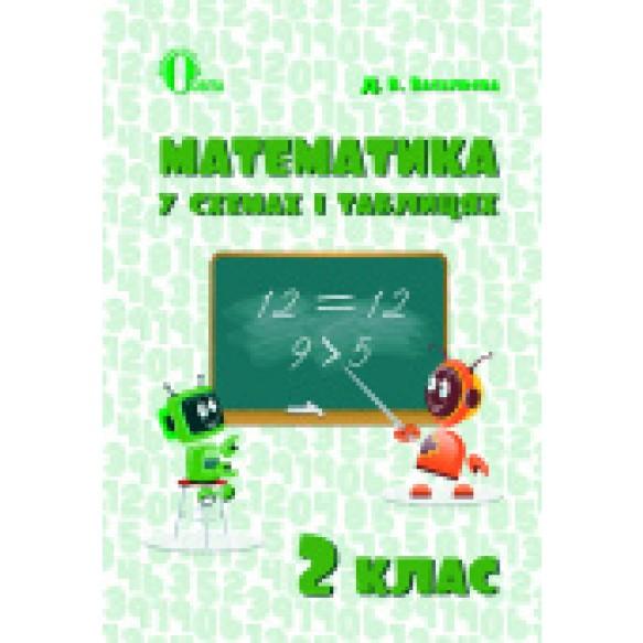 Математика у схемах і таблицях 2 клас