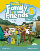 Family and Friends 6.Classbook and MultiROM Pack. Second edition