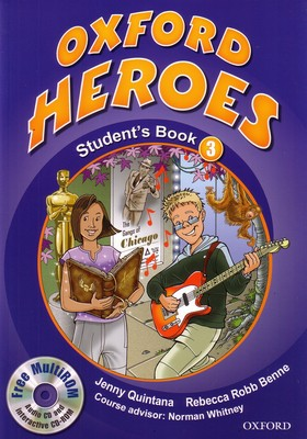Oxford Heroes 3.Student's Book and MultiROM Pack