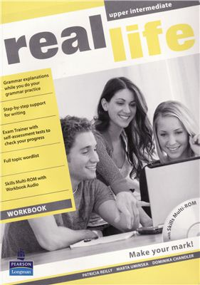 Real Life Upper Intermediate Workbook with Skills Multi-ROM and Audio