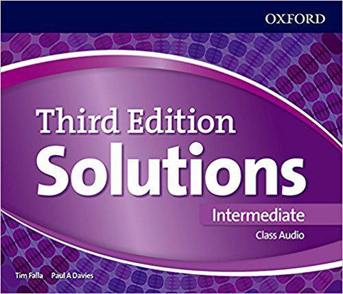 Solutions Intermediate Class Audio CDs (4 Discs) 3 ed