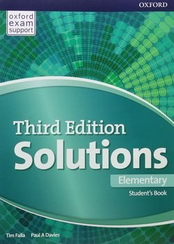 Solutions Elementary Student Book 3 edition
