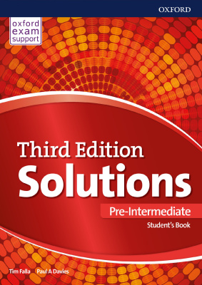 Solutions Pre-Intermediate Student Book 3 edition