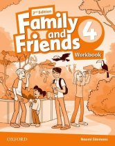 Family and Friends 4.Workbook. Second edition