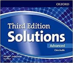 Solutions Advanced Class Audio CDs (4 Discs) 3 ed