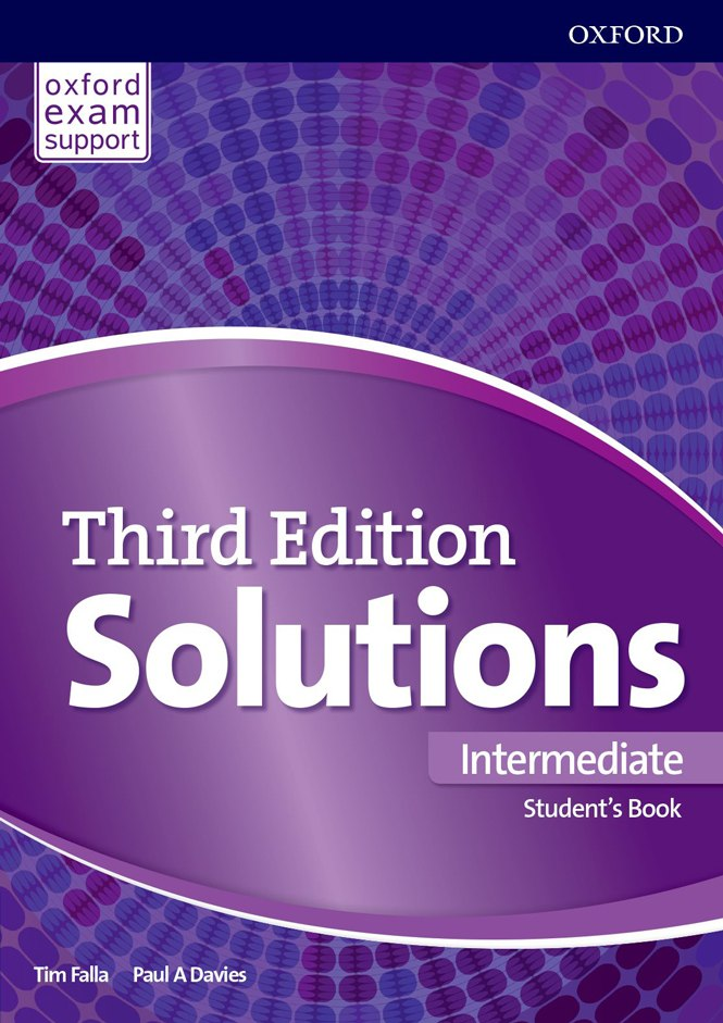 Solutions Intermediate Student Book 3 edition