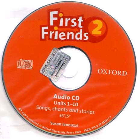 First Friends 2  Audio Class CD