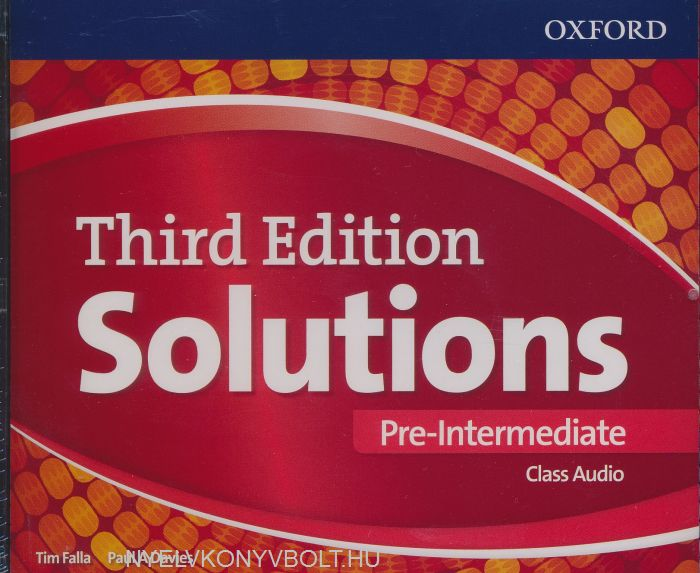 Solutions Pre-Intermediate Class Audio CDs (4 Discs) 3 ed
