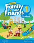 Family and Friends1. Class Book with MultiROM Second edition