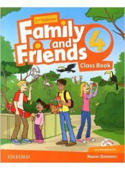 Family and Friends 4.Classbook and MultiROM Pack. Second edition