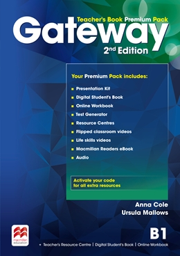Gateway 2nd Edition B1 Teacher's Book Premium Pack
