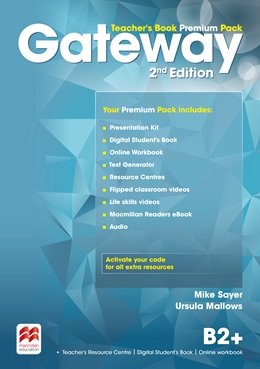 Gateway 2nd Edition B2+ Teacher's Book Premium Pack