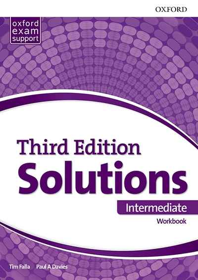 Solutions Intermediate Workbook and Audio Pack (Ukrainian Edition) 3 edition