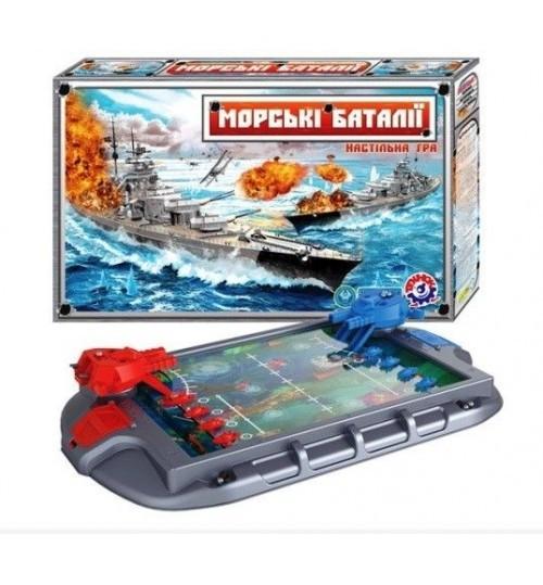 Морские баталии Настольная игра