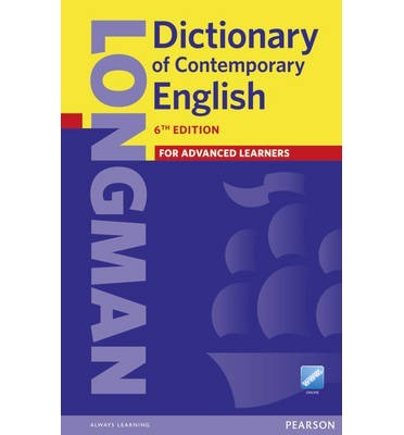 NEW Longman Dictionary of Contemporary English 6th edition + Online Access