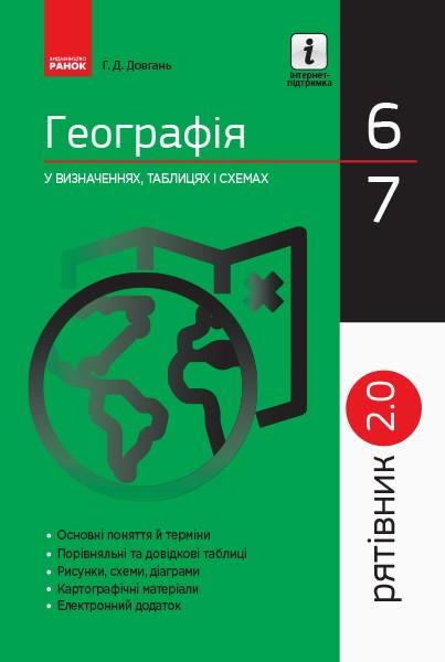 Спасатель География в определениях схемах таблицах 6-7 классы