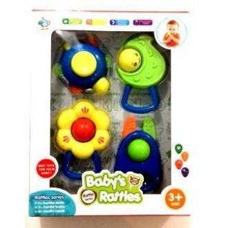 Набор погремушек Baby Rattles 4 шт