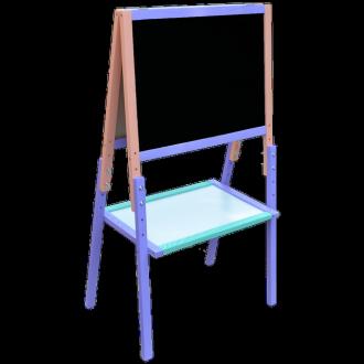 Мольберт Растишка (Регулируемая высота) 3 цвета + рисунок