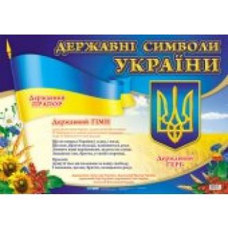 Государственные символы Украины  маленькие