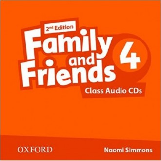 Family and Friends 4 Class Audio CD 2Е