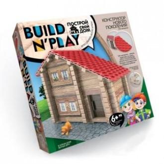 Конструктор Построй свой дом - Build N' Play