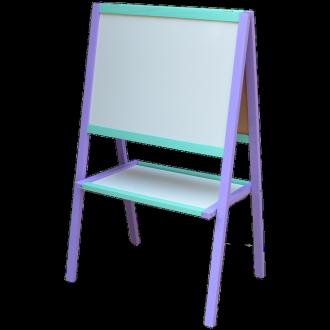 Мольберт Умник фиолетово-голубой