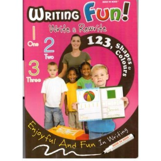 Writing fun Numbers (123, shapes & colours)