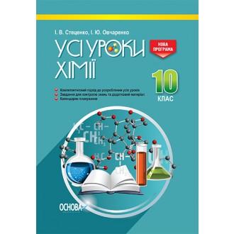 Усі уроки хімії 10 клас