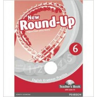 New Round-Up 6 Teacher's Book with CD